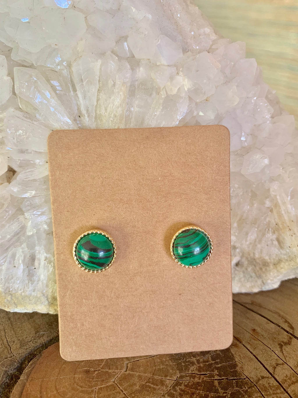Country Glow Stud Earring Collection Jade