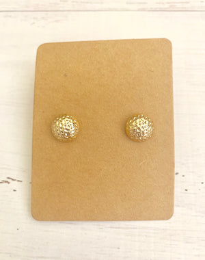 Country Glow Stud Collection Frosted Gold