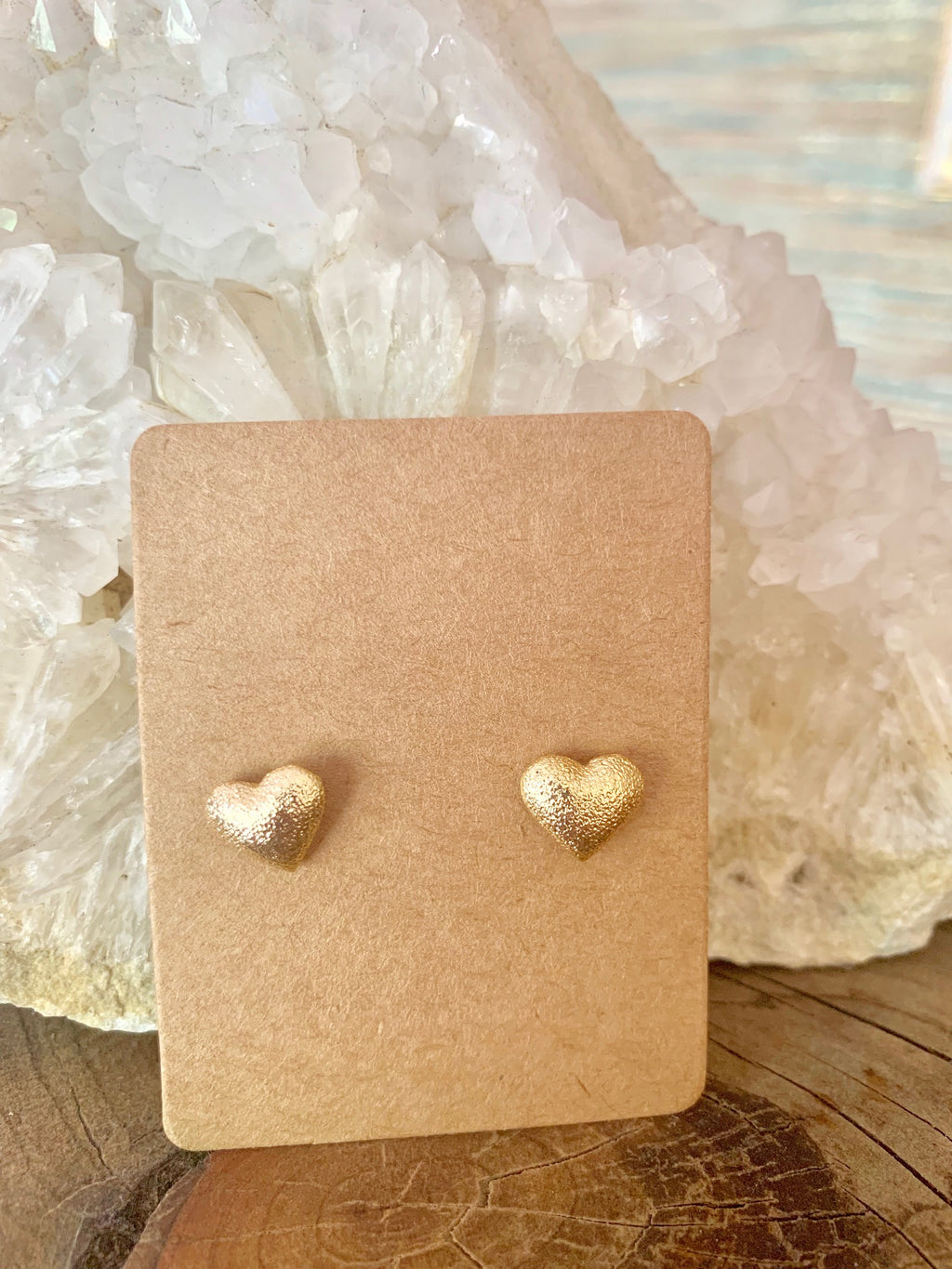 Country Glow Stud Collection Gold Love
