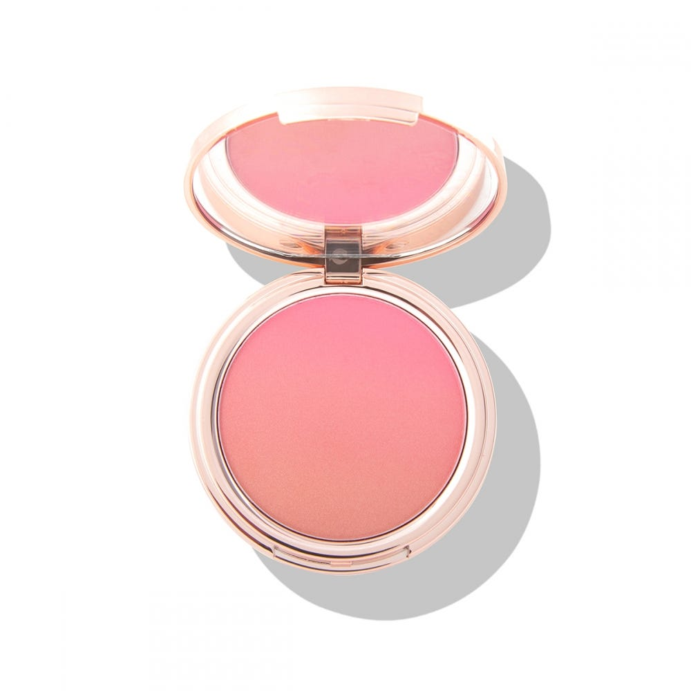 PONi Unicorn Candy Ombre Pink & Coral Face Blush