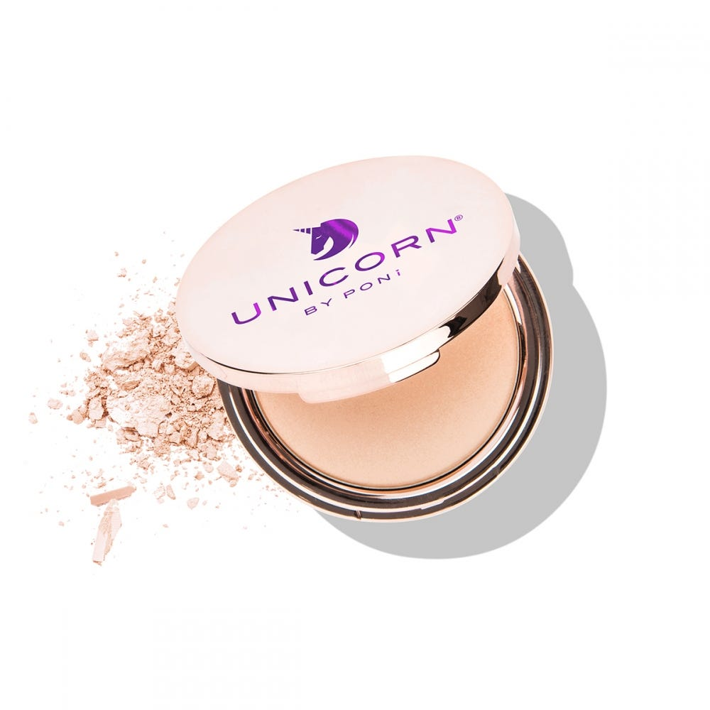 PONi Unicorn Champagne Highlighter Powder