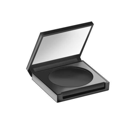 Quoi Blush Compact with Mirror
