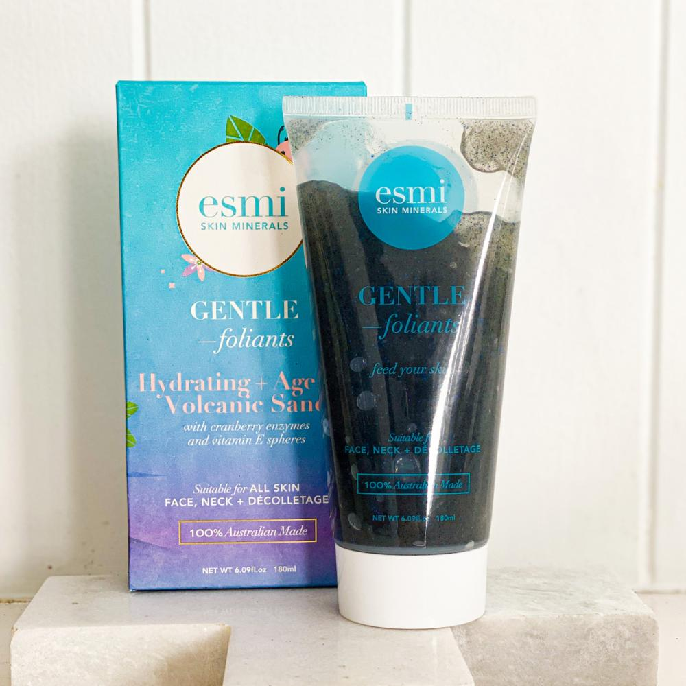 Esmi Hydrating & Ageless Volcanic Sand Gentle-Foliant