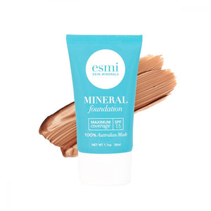 ESMI Maximum Coverage Liquid Mineral Foundation with spf 15
