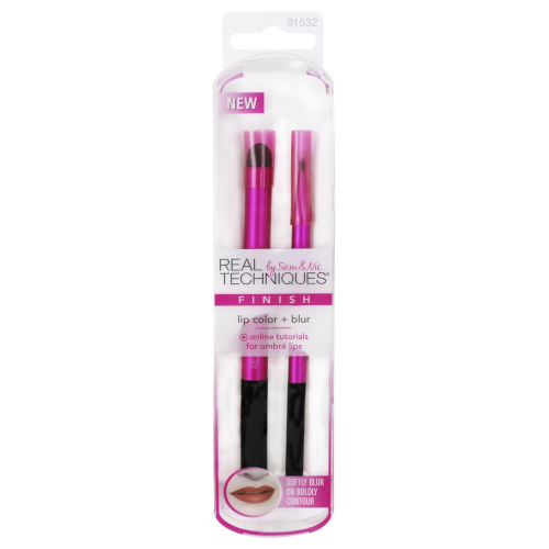 Real Techniques Lip Colour & Blur Makeup Brush Set