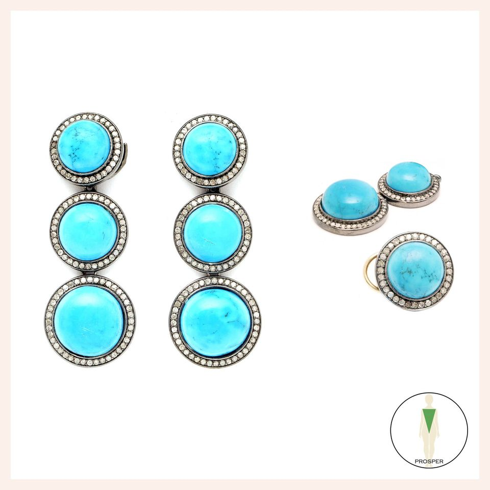 Turquoise St Tropez Earrings