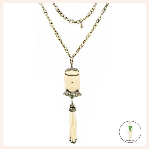 One of a Kind Camel Bone Enchantment Necklace