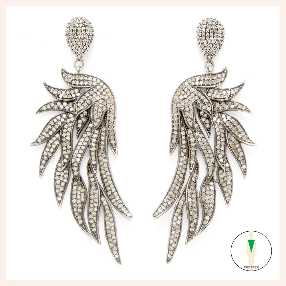 Fire Wing Earrings