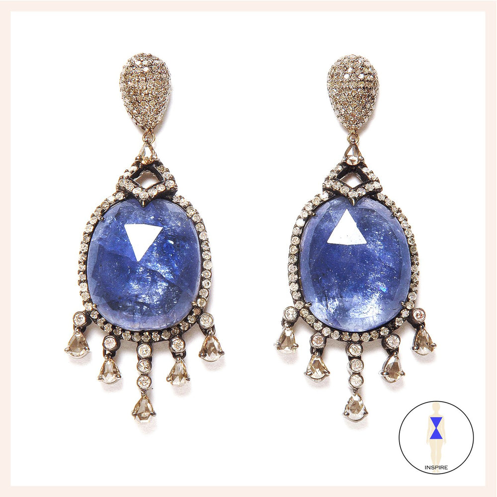 Bleu Royalty Earrings