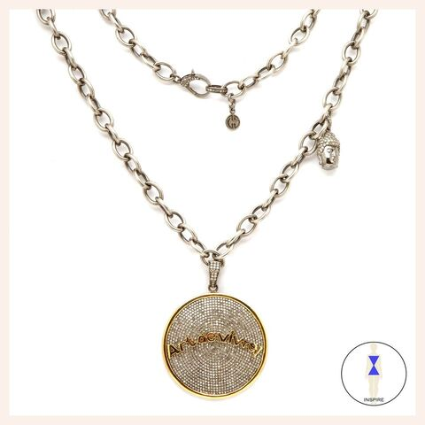 One of a Kind Diamond Art de Vivre Necklace