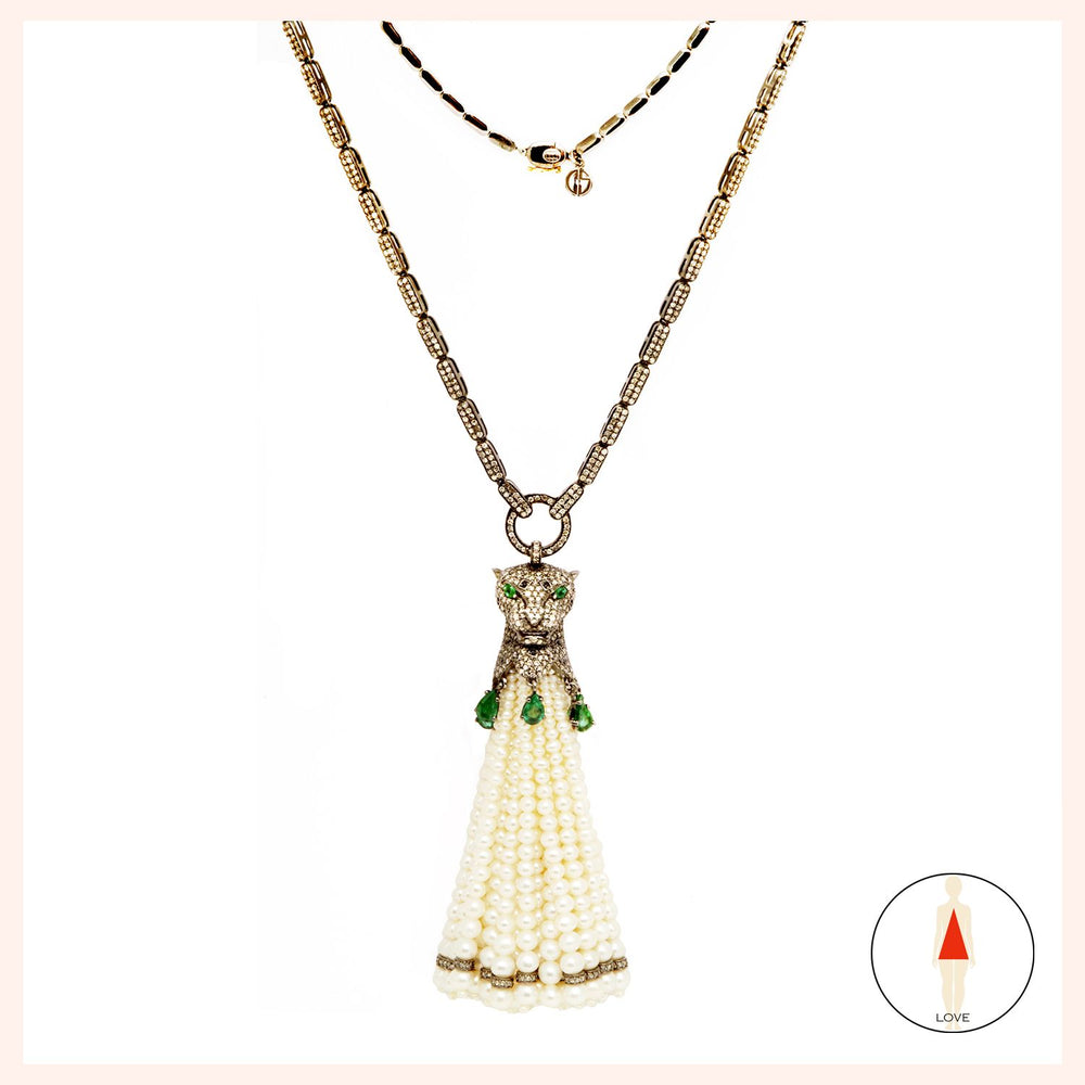 Panthere d' Amour Necklace