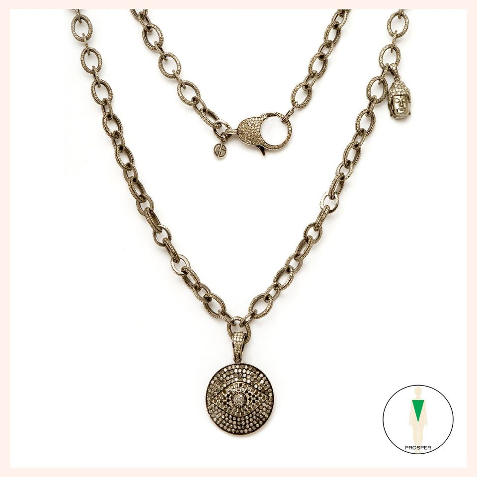 Goddess Tyche Necklace
