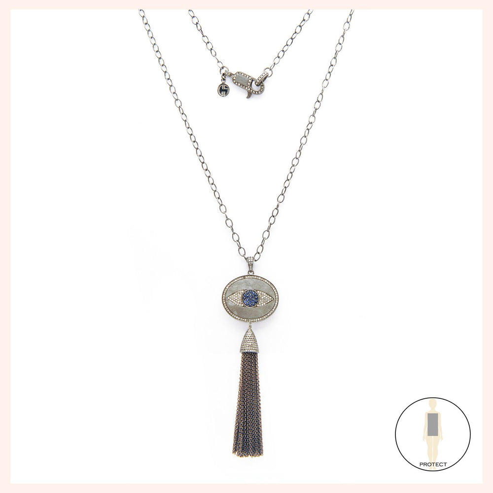 Free Spirit Eye Necklace