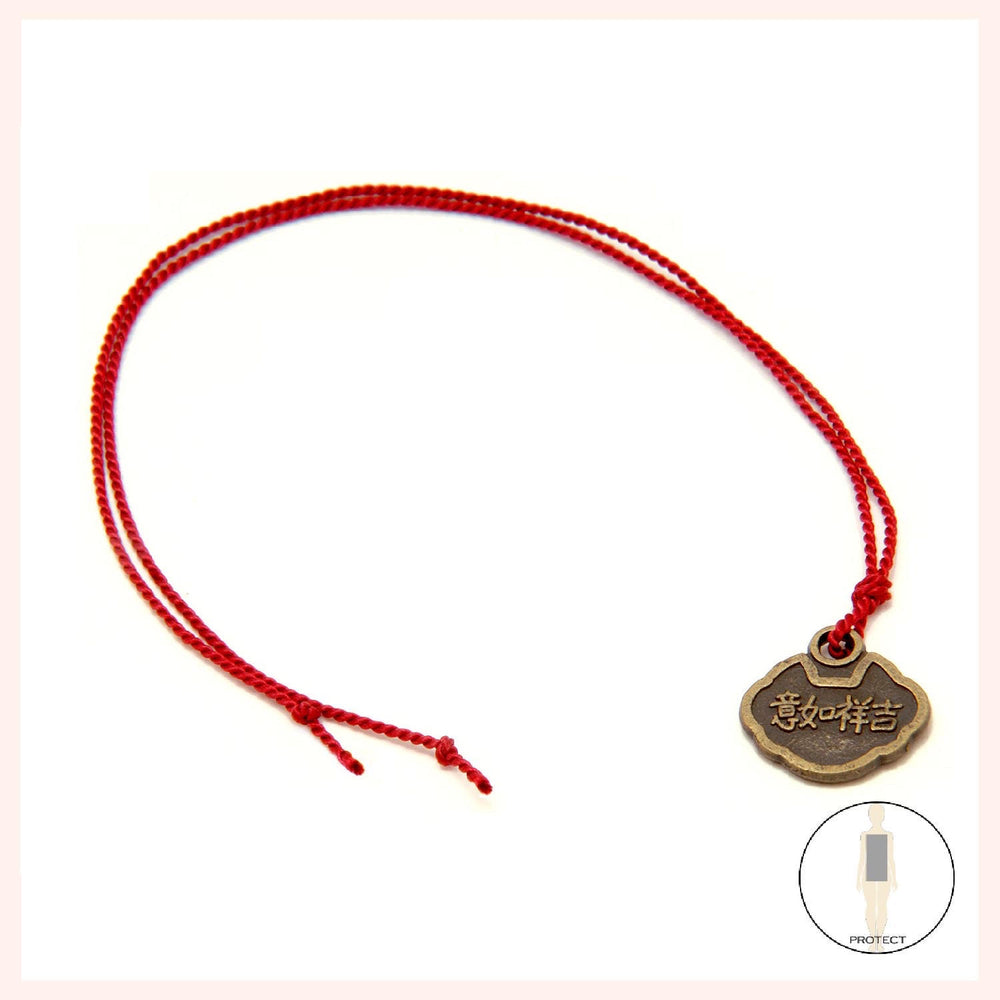 """Red String"" Coin Blessings"