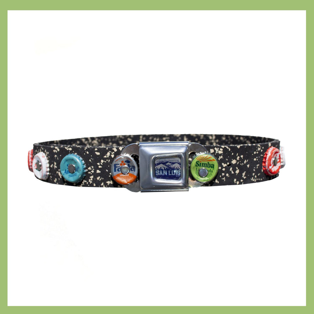 Sustainable Design B.I.G.© Beauty In Garbage- Stud Belt