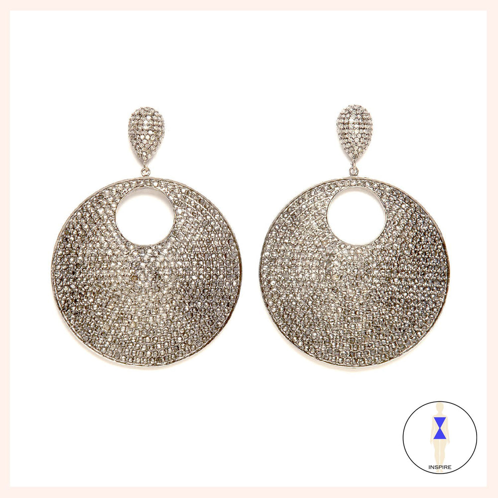 Moon Reflective Earrings
