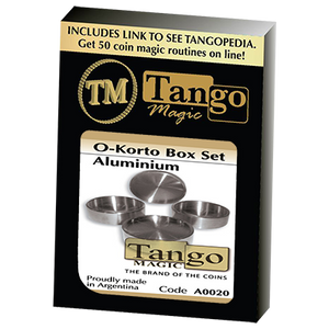 O-Korto Box Set Aluminum by Tango - Trick (A0020)