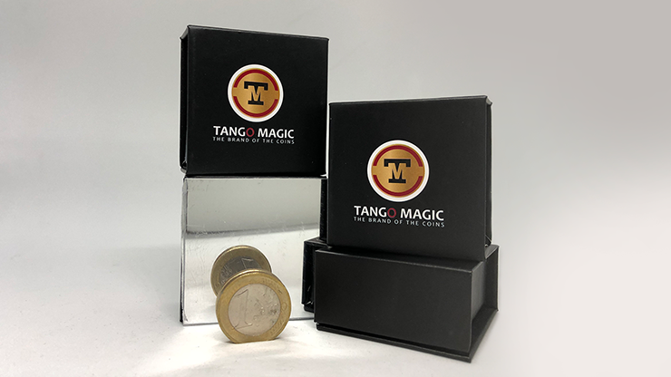 Double Sided Coin (1 Euro) (E0026) by Tango - Trick.