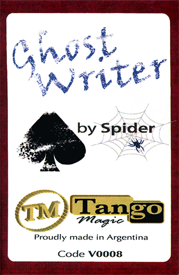 Ghost Writer (v0008)by Spider & Tango Magic - Tricks