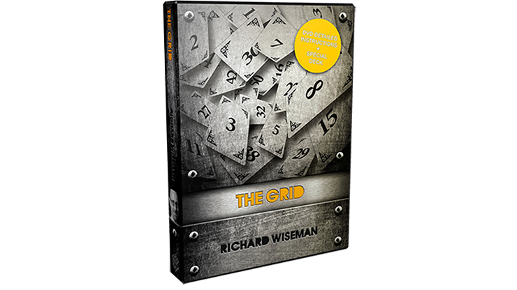 The Grid (DVD and Gimmicks) by Richard Wiseman - DVD.