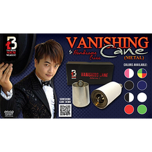Load image into Gallery viewer, Vanishing Cane (Metal / Black & White Stripes) by Handsome Criss and Taiwan Ben Magic - Tricks