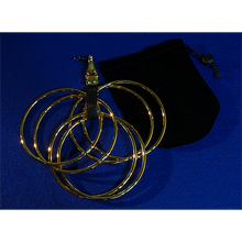 Load image into Gallery viewer, The Rings (Online Instructions and Gold Rings) by Raymond Iong - Trick