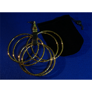 The Rings (Online Instructions and Gold Rings) by Raymond Iong - Trick