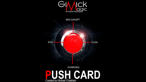 PUSH CARD von Mickael Chatelain + Free Bicycle Rider Back.