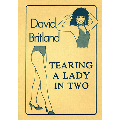 Tearing A Lady in Two by David Britland - Book