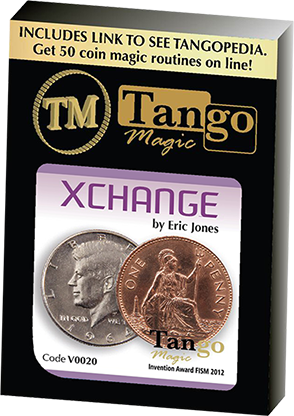 Xchange (Online Instructions and Gimmicks) V0020 by Eric Jones and Tango Magic - Trick