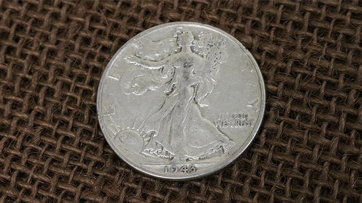 Walking Liberty Half Dollar Single Coin (Ungimmicked).