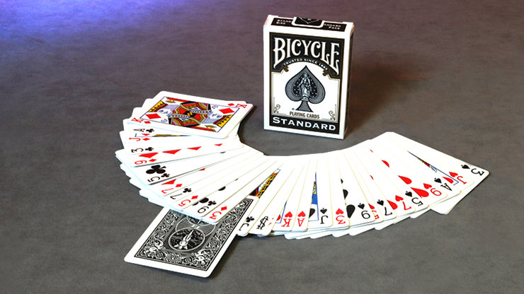 Invisible Deck Bicycle (Schwarz) - Trick.