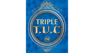 Triple TUC Dollar (D0184) Gimmicks and Online Instructions by Tango - Trick