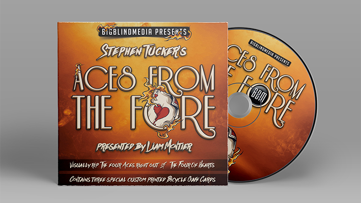 Stephen Tucker Aces From The Fore (Gimmicks et DVD) - DVD.