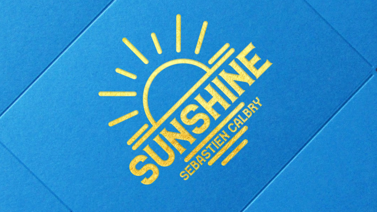 SUNSHINE (Gimmick and Online Instructions) by Sebastien Calbry  - Trick