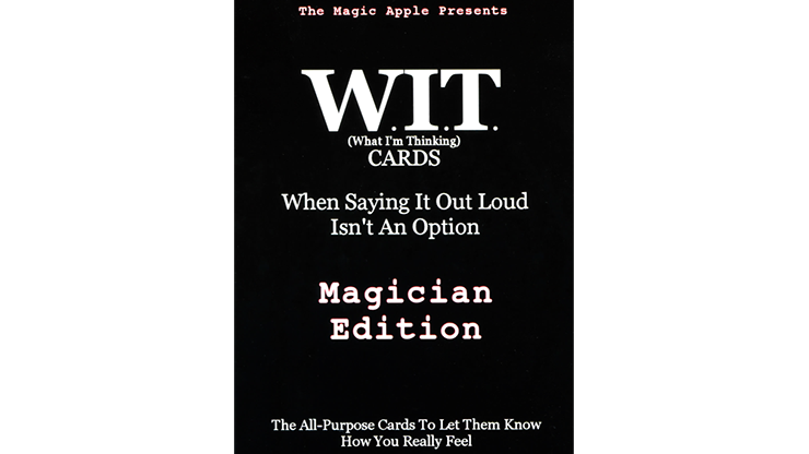 WIT Cards by Duppy Demetrius & Brent Geris - Trick