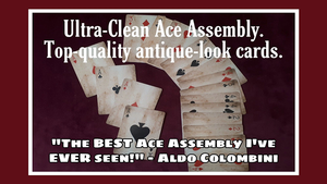 Ultra Clean Ace Assembly by Paul Gordon (Gimmick and Online Instructions) - Trick