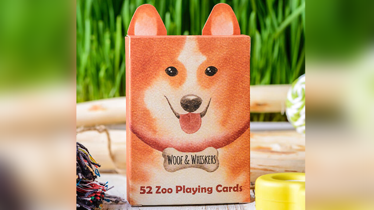 Zoo 52 (Woof Whiskers) Spielkarten von Elephant Playing Cards