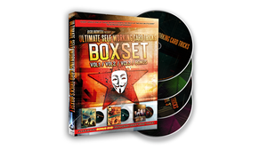 Ultimate Self Working Card Tricks Triple Volume Box Set by Big Blind Media - DVD