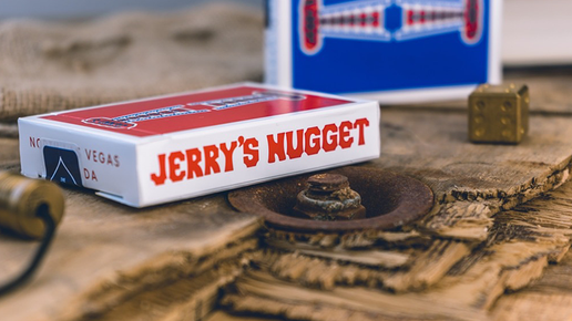 Jerry's Nuggets Shim Card (rot) von The Hanrahan Gaff Company.