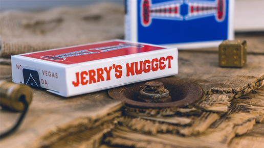 Jerry's Nuggets Rising Card (blau) von The Hanrahan Gaff Company.