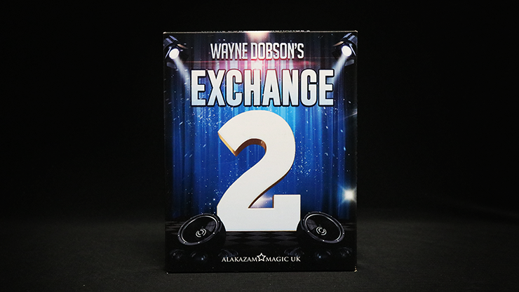 Waynes Exchange 2 (Gimmick et instructions en ligne) par Wayne Dobson et Alakazam Magic - DVD.