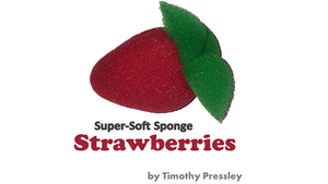 Super-Soft Sponge Strawberries by Timothy Pressley and Goshman - Trick