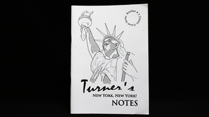 Turner's New York, New York Notes by Peter turner - Book