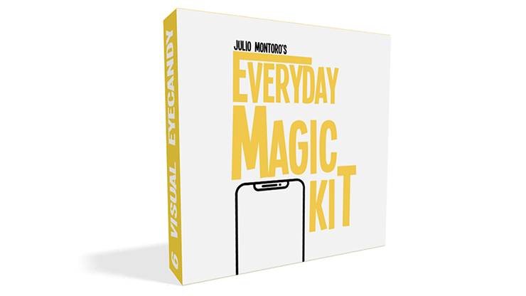 EVERYDAY MAGIC KIT (Gimmicks and online Instructions) by Julio Montoro - Trick.