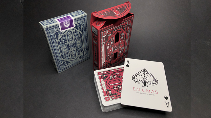 ENIGMAS Puzzle Hunt (RED) Playing Cards