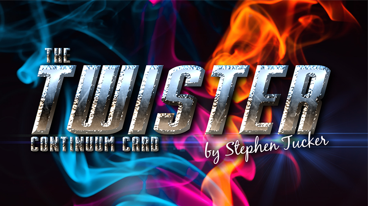 The Twister Continuum Card Blue (Gimmick and Online Instructions) by Stephen Tucker - Trick