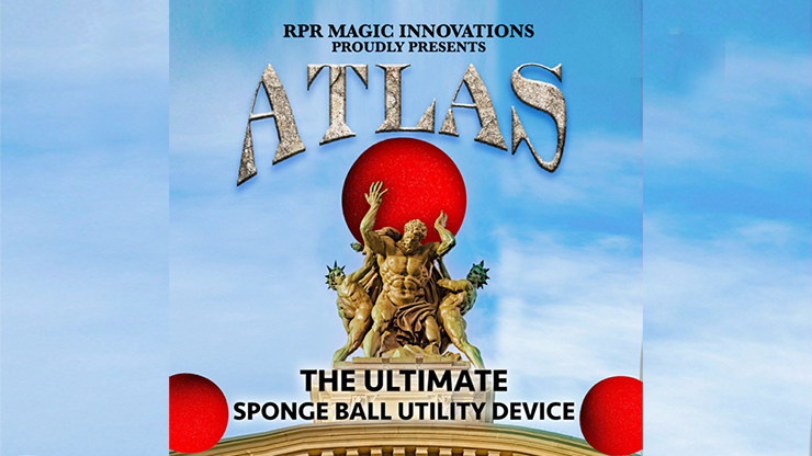 Atlas Kit Red (Gimmick und Online-Anleitung) von RPR Magic Innovations - Trick.
