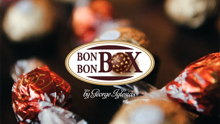BonBon Box by George Iglesias and Twister Magic (Red & Gold Box)