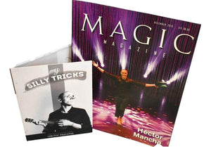 """MY SILLY TRICKS"" Hector Mancha. DVD + Descarga + Revista Ganador FISM. ESP/ENG"
